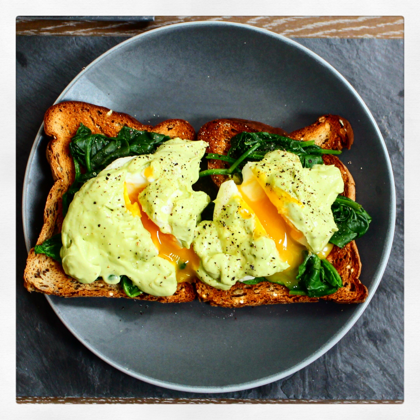 Avocado Hollandaise