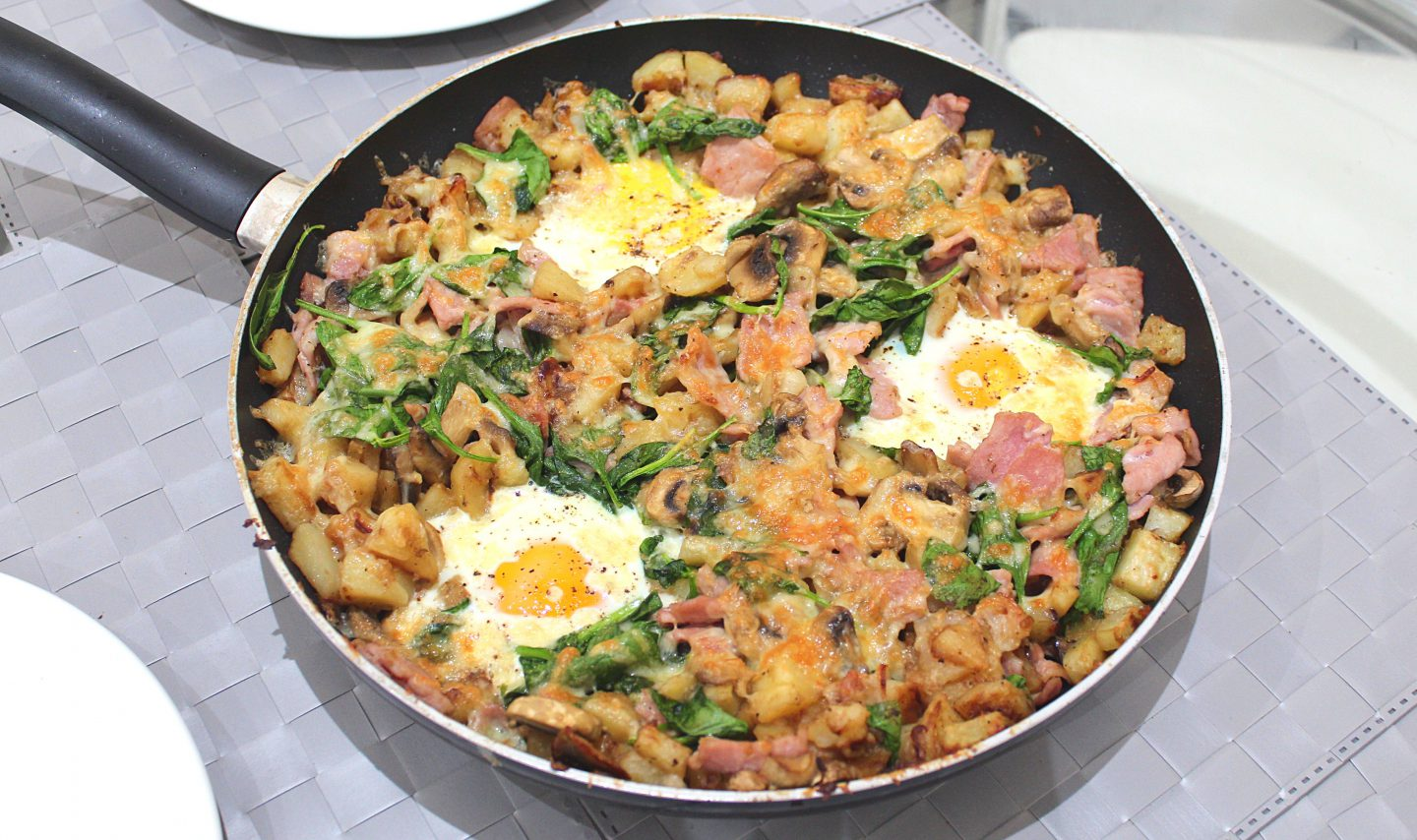 Egg, Bacon and Potato Hash