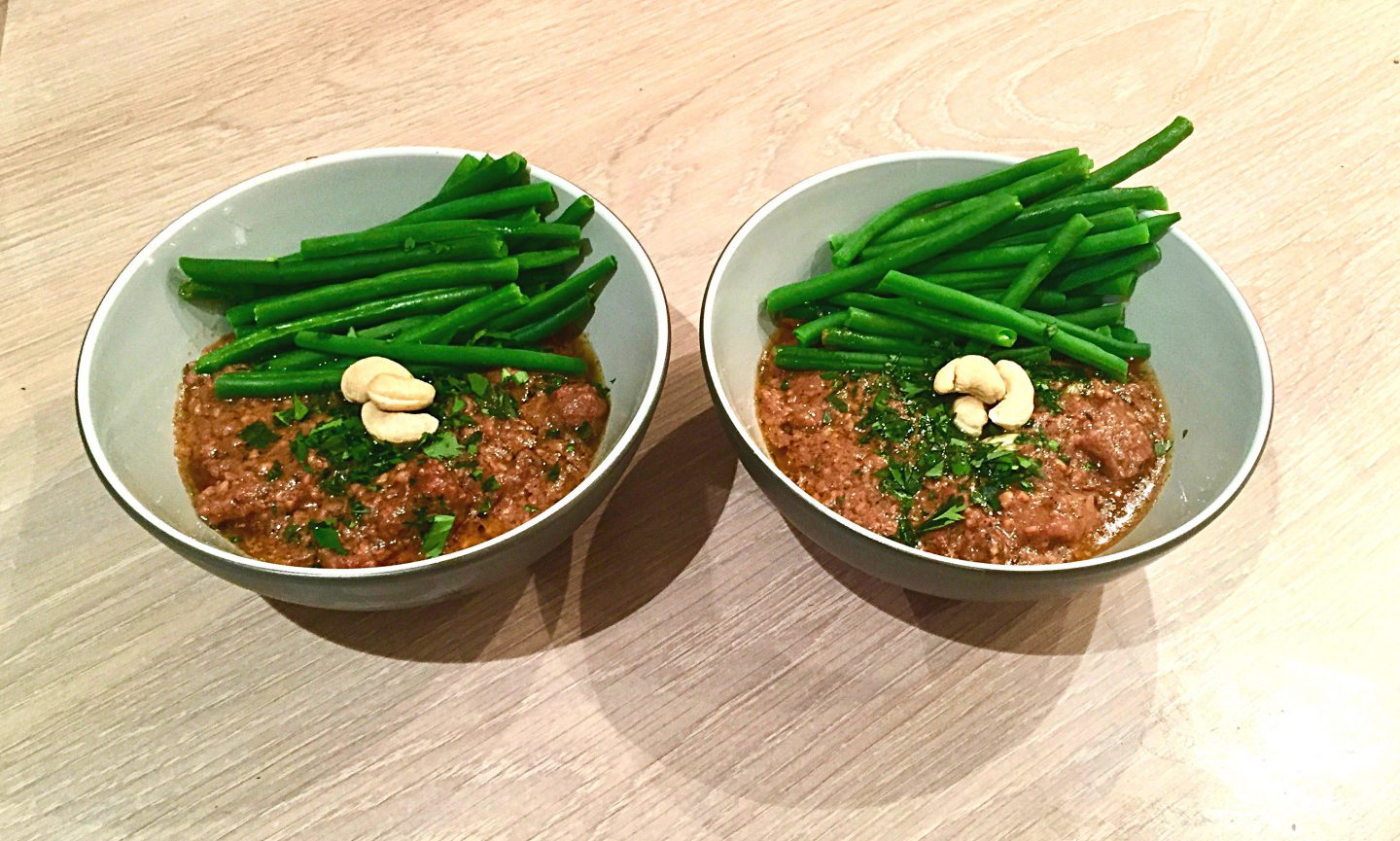 Lamb, Coconut and Cashew Nut Curry